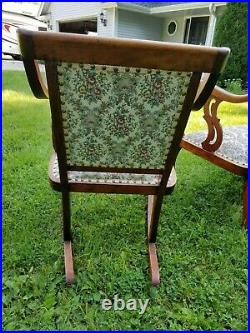 Beautiful Antique Parlor Set Loveseat Settee, Rocker & Chair 1920's REDUCED