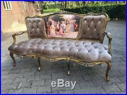 Beautiful French Louis XVI Sofa/ Settee/ Bench