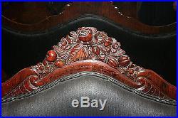 Belter Rosalie Pattern Laminated Rosewood Sette/Sofa