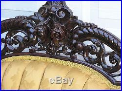 Breathtaking Victorian Rococo J & Jw Meeks Stanton Hall Parlor Set