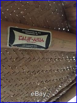Calif-asia Vintage Rattan Patio Set
