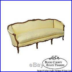 Century French Louis XV Style Long Sofa (A)
