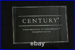 Century High Quality Brown Leather Essex Sofa