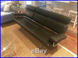 Charles & Ray Eames for Herman Miller Three Seat Mid Century Modern Sofa