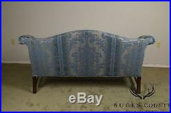Chippendale Style Mahogany Custom Quality Sofa