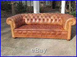 Clic Kensington Tufted Chesterfield Sofa Made In England Horse Hair Stuffed