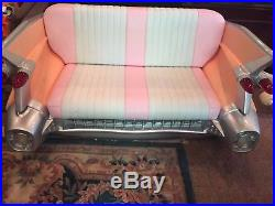 Collectible By Yab Design Fun Furniture Pink Cadillac Couch with Matching Mirror
