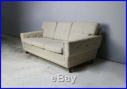 Danish 1970s mid century 3 seat sofa