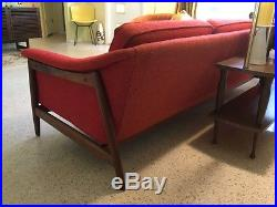 Danish Modern Dux Sofa Couch Folke Ohlsson Mid Century
