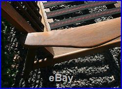 Danish Modern Mid Century Wood Teak Couch Sofa Settee Eames