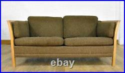 Danish vintage retro style 2 seater sofa settee