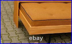 Daybed 60er TRUE VINTAGE Tagesbett Schlafcouch Couch Sofa Sitzmöbel Gästebett