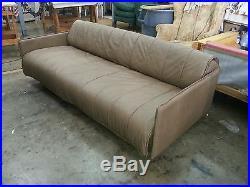 De Sede Of Switzerland Modernist 1986 Leather Sofa Convertible Bed ...