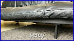 De Sede of Switzerland Convertible Sofa Black