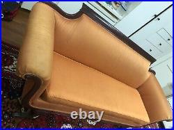 Duncan Phyfe Antique Beautiful Claw-foot Sofa