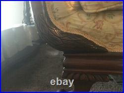 Duncan Phyfe Goose neck Sofa antique original. Excellent condition