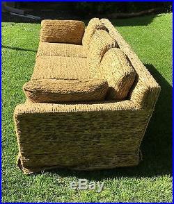 Early Mid Century Modern For Dunbar Tuxedo Style Sofa Wormley Original