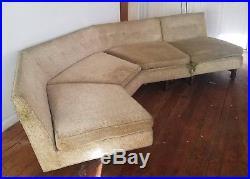 Edward Wormley for Dunbar mid century sectional sofa