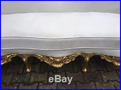 Elegant and relaxed antique sofa seat, Italian look, sophisticated design