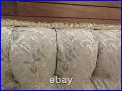 Exceptional East Lake Settee / Loveseat 1800's