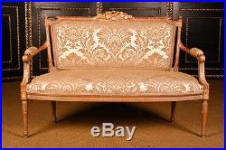 Fabulous French Louis XV Style Canape Sofa and 2 chairs Handmade in Germany
