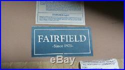 Fairfield Loveseat Settee Mahogany Designer