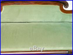 Federal Empire Mahgoany Claw Foot Sofa