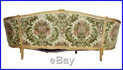 Fine 19th Century 5 Piece Gilt Salon Living Room Suite