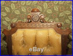 Fine Five Piece Victorian Parlor Set