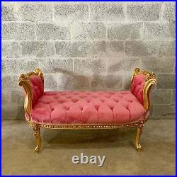 French Louis XVI Bench/small sofa
