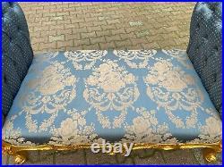 French Louis XVI Style Love Seat/Settee/Sofa Worldwide Free Shipping
