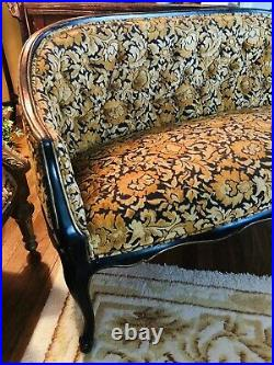 French Provincial Settee Loveseat