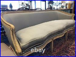 French Style Silk Sofa