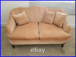 Grandma's Antique Velvet Love Seat. Genuine Collectors Piece