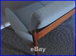 Grete Jalk Danish MID Century Modern Teak Four Seat Sofa
