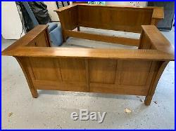 Gustav Stickley Arts And Crafts Settees (Sofa and Loveseat) Mission Oak
