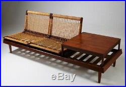Hans Olson for Bramin Model 161 Daybed sofa Modular Mid century floor chairs