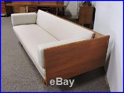 Hans Wegner Danish MID Century Modern Teak Sofa Daybed Getema 259