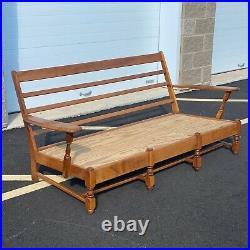Heywood Wakefield Paddle Arm Sofa