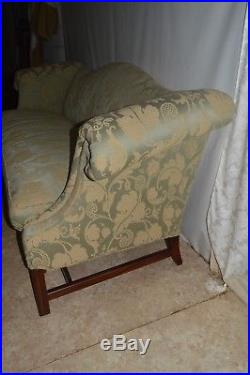 Hickory Chair Chippendale Mahogany Sofa