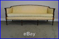 Hickory Chair Mahogany Sheraton Style Sofa