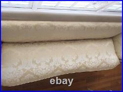 High Style Painted Regency Sofa