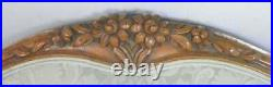 Italian Carved Walnut Settee