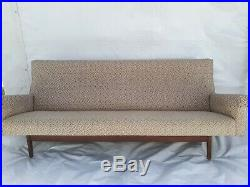 Jens Risom Design sofa, Danish modern