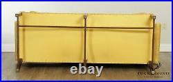 Kittinger Williamsburg Adaptation Mahogany Chippendale Style Camelback Sofa