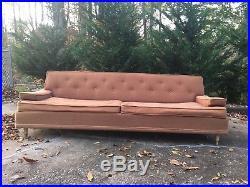 Kroehler Sofa, Mid Century Modern Couch 1950s
