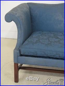 Fine L46247Ec Kittinger Colonial Williamsburg Mahogany Camelback Inzonedesignstudio Interior Chair Design Inzonedesignstudiocom