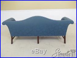 L46247EC KITTINGER Colonial Williamsburg Mahogany Camelback Sofa
