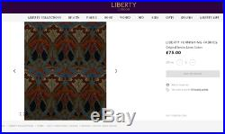 Libertys London Ianthe Upholstery 2-3 Seater Sofabed By Flemming And Howland