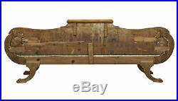 MID 19th Century Burr Birch Swedish Sofa